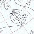 Hurricane Flora surface analysis September 7 1955.jpg