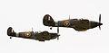 Hurricane and Spitfire Mk1A 2 (5927136970).jpg