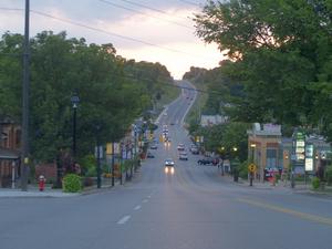 Bolton, Ontario - Highway 50 in Bolton