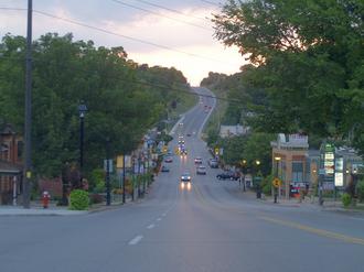 Bolton, Ontario - Queen Street (Former Highway 50) in Bolton