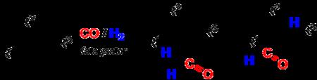 Hydroformylierung eines Alken