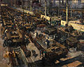 INF3-17 Production of tanks Artist Terence Cuneo 1939-1946.jpg