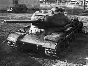 IS tank family - IS-85 Prototype (IS-1).