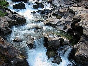 Icicle Creek - Rapids on Icicle Creek