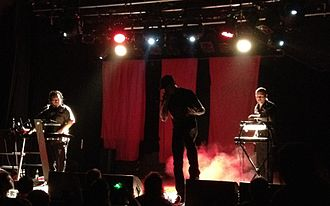 Icon of Coil - Icon of Coil, October 2011 Left to right: Sebastian Komor, Andy LaPlegua, Christian Lund