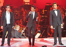 Description de l'image  Il Volo trio from italy IMG 4412.JPG.