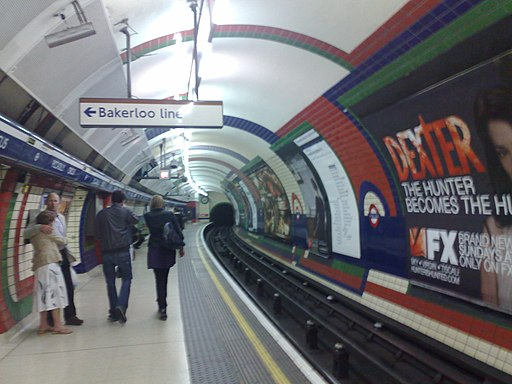 Image-Piccadilly Circus Tube Sparse