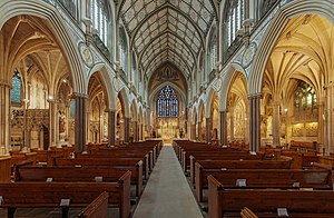 Church of the Immaculate Conception, Farm Street - View facing the altar