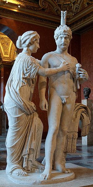 Imperial group as Mars and Venus, at the Louvre. Photo: Marie-Lan Nguyen/Wikimedia Commons