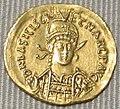 Impero d'oriente, basilisco e marco, solido in oro (costantinopoli), 475-476.JPG