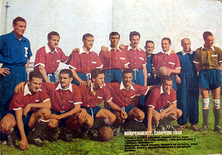 Independiente 1948.