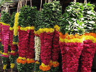 Garland -  Heavy flower garlands for sale in Chennai, India
