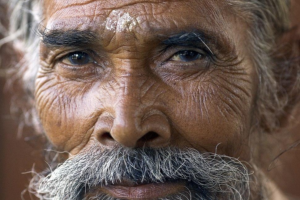 India - Delhi portrait of a man - 4780