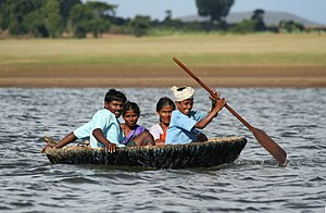 Kabini River - Image: Indian coracle