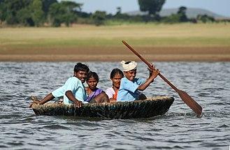 Kabini River - Image: Indian coracle