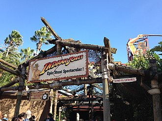 Indiana Jones Epic Stunt Spectacular! - Image: Indiana Jones Epic Stunt Spectacular! entrance