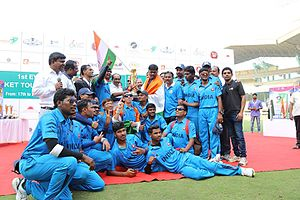 Cricket Association for the Blind in India - Image: Indianteam