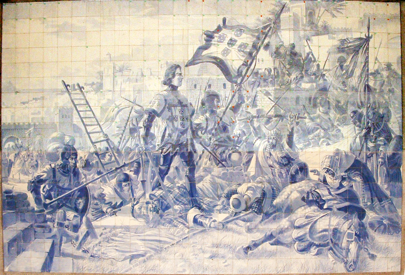 Ficheiro:Infante D. Henrique na conquista de Ceuta.png