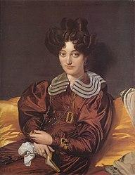 Jean Auguste Dominique Ingres: Portrait of Madame Marcotte de Sainte-Marie