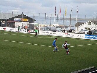 Argir Stadium - AB Argir vs. FC Suðuroy 1-0 on 23 October 2010 on Argir Stadium.