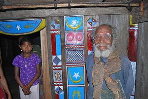 Bunak people - Image: Inside a Uma Lulik in Fatuc Laran