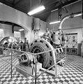 Interieur electriciteitscentrale van de voormalige strafkolonie Veenhuizen, generator - Veenhuizen - 20342450 - RCE.jpg