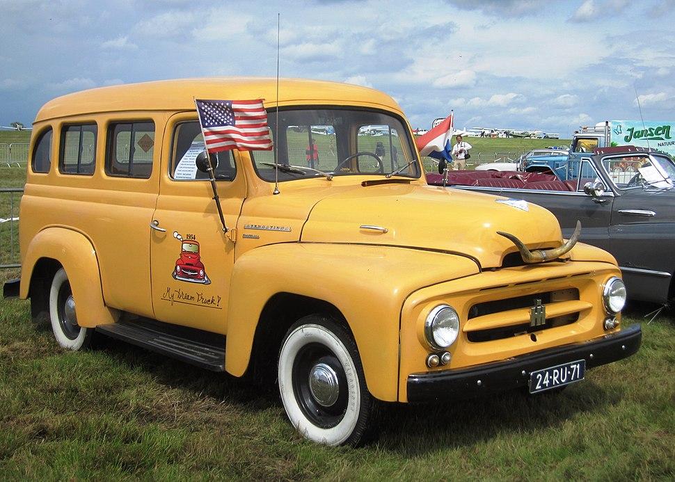 International R-110 (1954) extensively restored