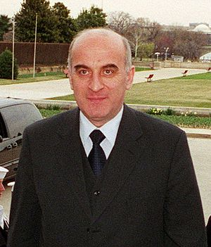 Irakli Menagarishvili - Irakli Menagarishvili in 2001