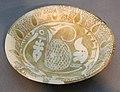 Iraq, piatto lustrato con pavone, X sec.JPG
