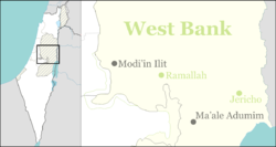 Niran is located in the West Bank