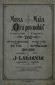 """Ivan Laharnar - Missa """"Ora pro nobis"""".pdf"""