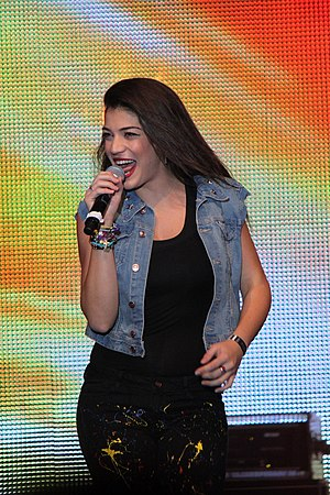 Ivi Adamou - Adamou at the Stockholm Pride in 2012