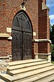 Izdebki, kostel, brána.jpg