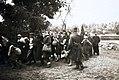 Jędrzejów. Pierwszy transport Żydów z getta do niemieckiego obozu zagłady w Treblince 16.IX.1942.jpg