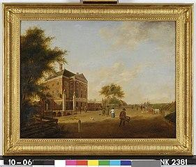 Het huis Swanenburg te Halfweg