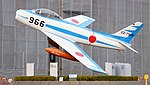 JASDF F-86F(02-7966) at Hamamatsu Air Base Publication Center November 24, 2014 05.jpg
