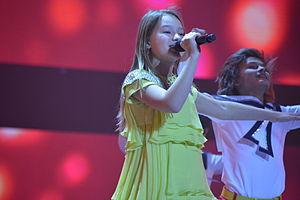 Russia in the Junior Eurovision Song Contest - Image: JESC 2013 (Russia) Dayana Kirillova at rehearsal 1