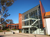 The JG Crawford Building at the Australian National University