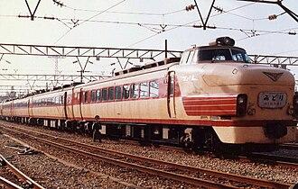 485 series - Image: JNR KURO481 1