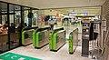 JR Sobu-Main-Line Ichikawa Station Shapo Gates.jpg