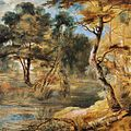 Jacques Fouquier - Wooded Landscape with a Stream - WGA08043.jpg