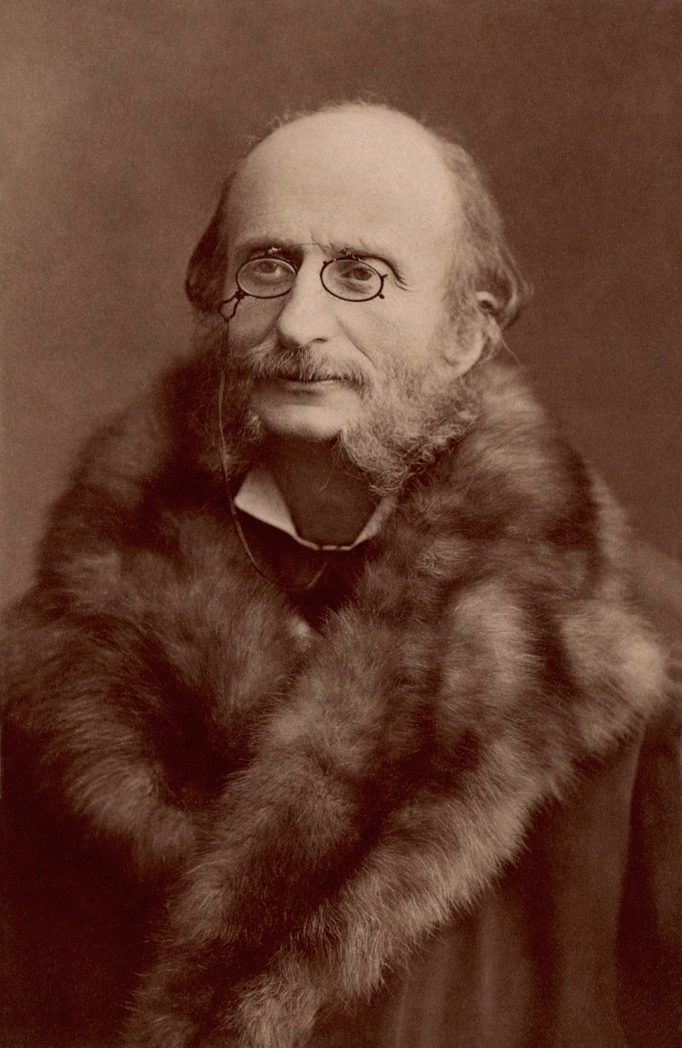 Jacques Offenbach by Nadar