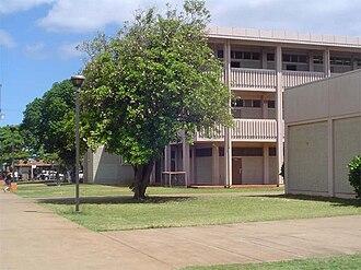 James Campbell High School - O building area.