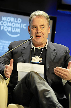 James Hogan (businessman) - Image: James Hogan World Economic Forum Annual Meeting Davos 2010