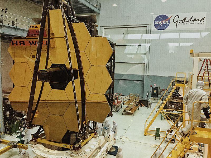 James Webb Space Telescope Revealed (26764527611).jpg