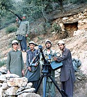 Jamiat e-Islami in Shultan Valley 1987 with Dashaka