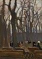 Jan Stanisławski - Fragment of the Planty Park - MNK II-b-2930 - National Museum Kraków.jpg