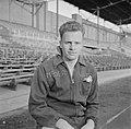 Jan van Schijndel (SVV) in het Olympisch Stadion in Amsterdam, enige dagen na de, Bestanddeelnr 191-1081.jpg