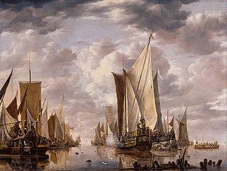 Jan van de Cappelle painter from the Northern Netherlands