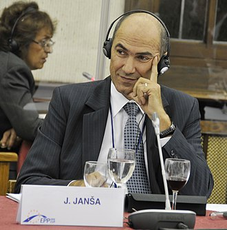 Janez Janša - Janša at the summit of the European People's Party